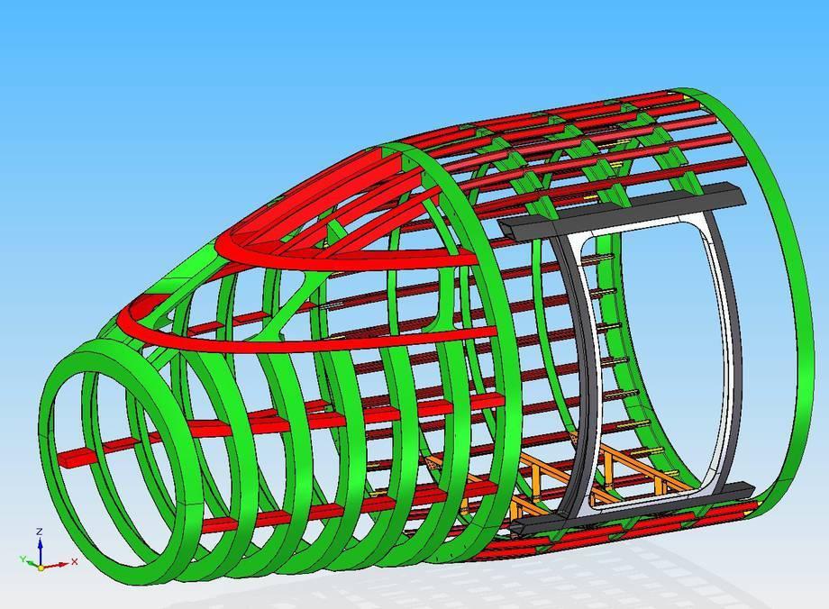 Projek samolotu klasy biznesowej( projekt niepełen- w budowie)