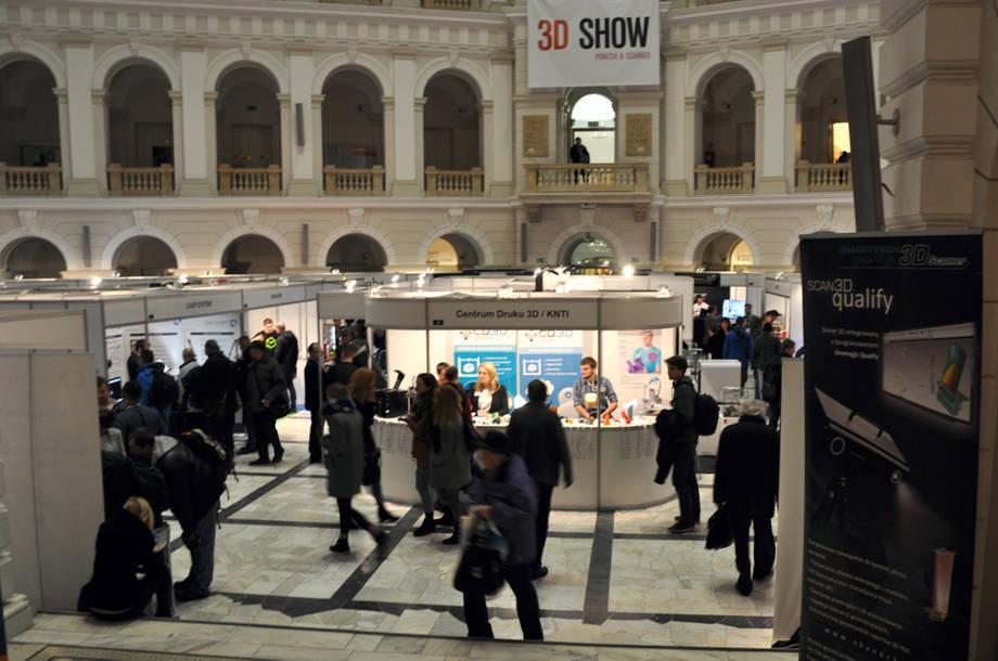 3D SHOW 2014 - Targi Drukarek i Skanerów 3D