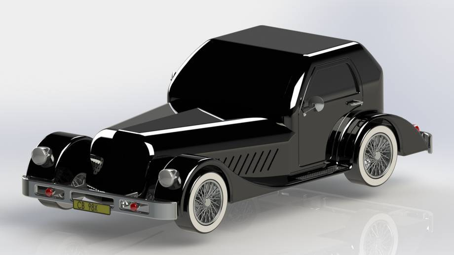 SolidWorks  Projekt samochodu