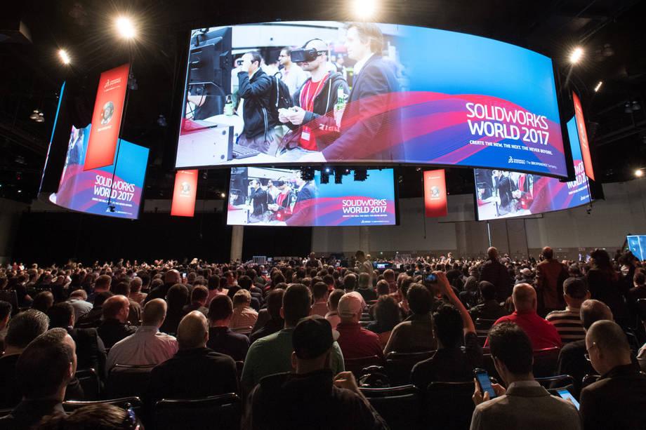 Fotorelacja z 1. dnia SOLIDWORKS WORLD 2017, Sesja Generalna