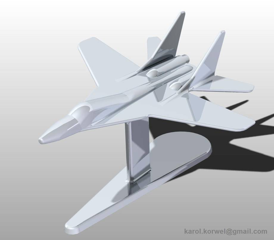Miniaturka MiG-29