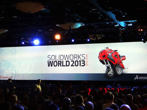 SolidWorks World 2013 - Dzień 1