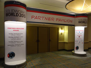SolidWorks World 2013: Partner Pavilion