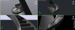 Schody w 3D