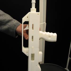 Pistolet PP2006 wykonany techniką szybkiego prototypowania
