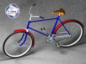 Rower wykonany w T-Flex CAD