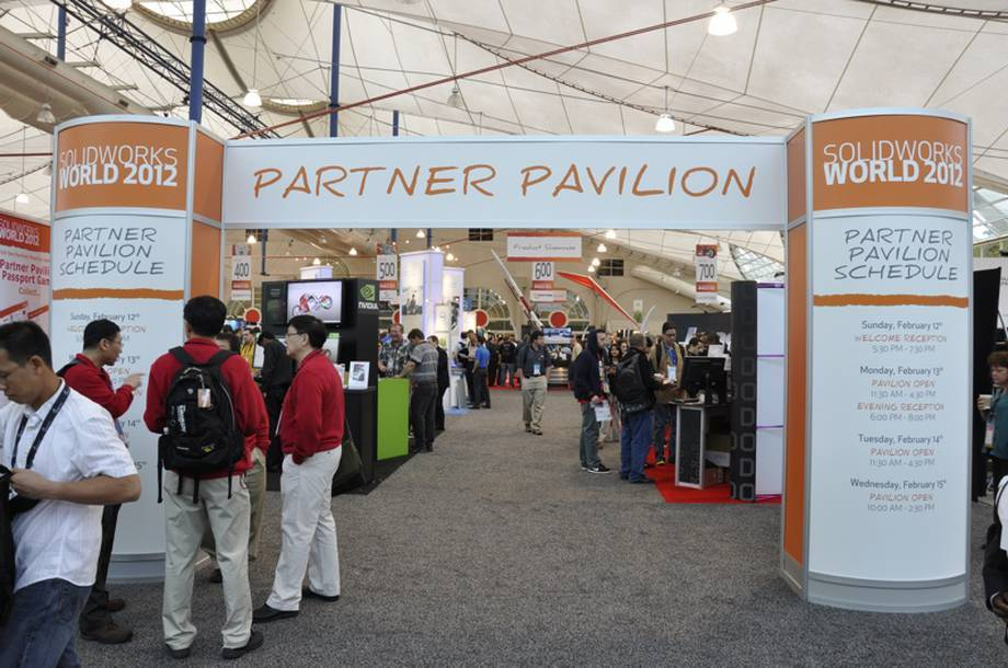Wystawa partnerów SolidWorks na tegorocznym SWW 2012