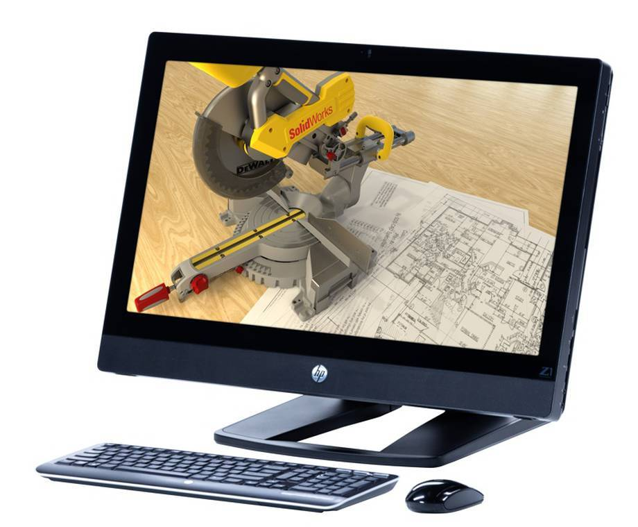 HP Z1  all-in-one