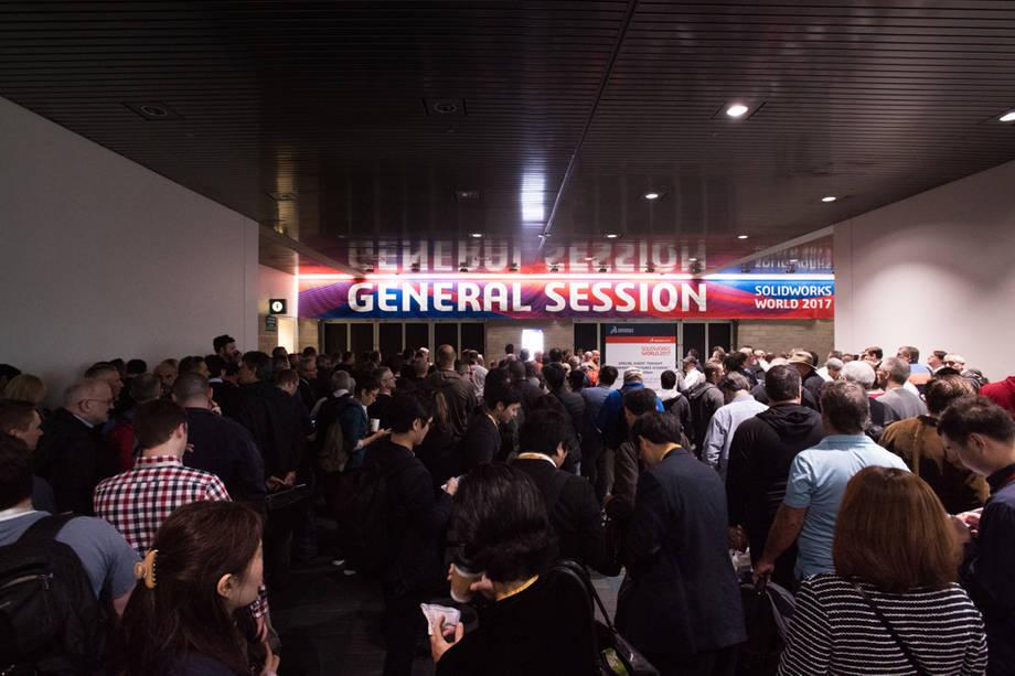 Fotorelacja z 2. dnia SOLIDWORKS WORLD 2017, Sesja Generalna