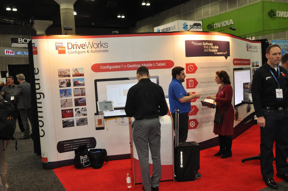 Partner Pavilion na SOLIDWORKS WORLD 2018
