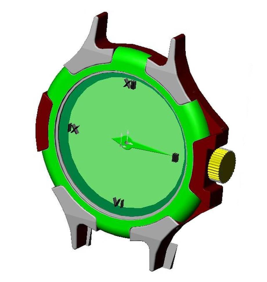 Zegarek na reke - wskazówkowy