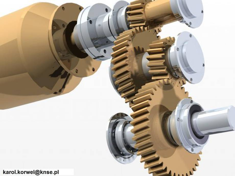 Projekt z przedmiotu - Podstawy Konstrukcji Maszyn